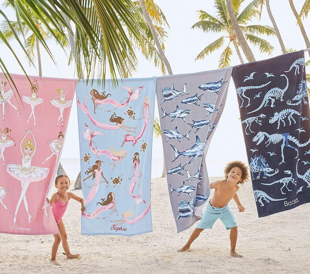 Isabelle Mermaid Beach Towel
