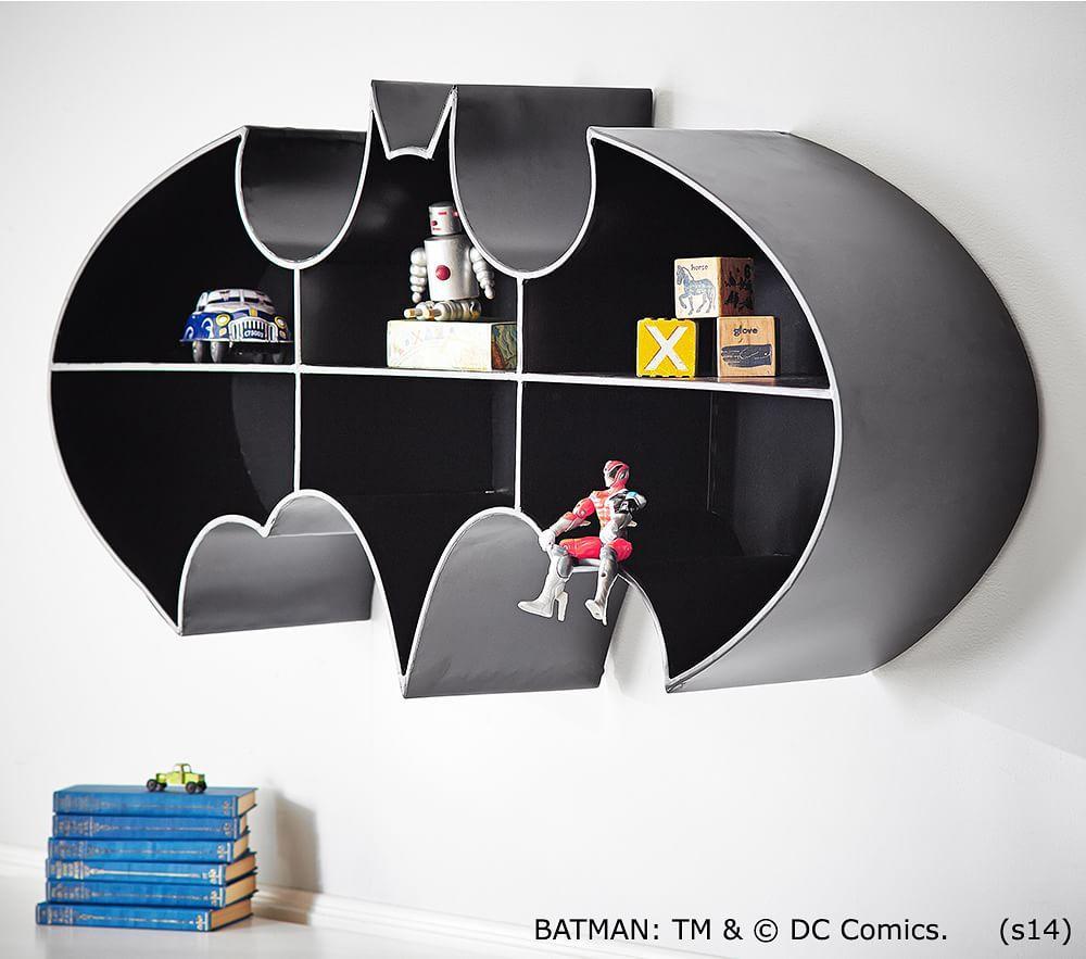 Batman Shelf Pottery Barn Kids