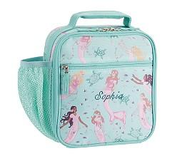 Mackenzie Aqua Magical Mermaid Classic Lunch Bag
