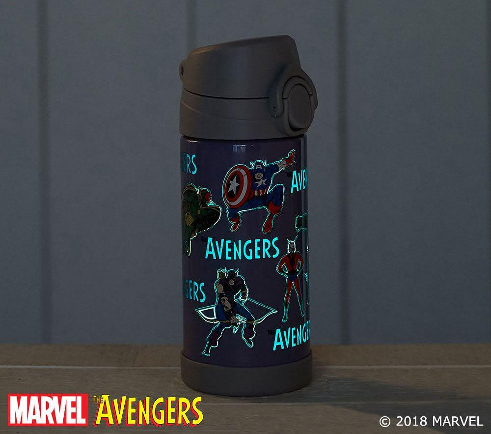 Marvel™ Glow-in-the-Dark Avengers Water Bottles & Food Storage
