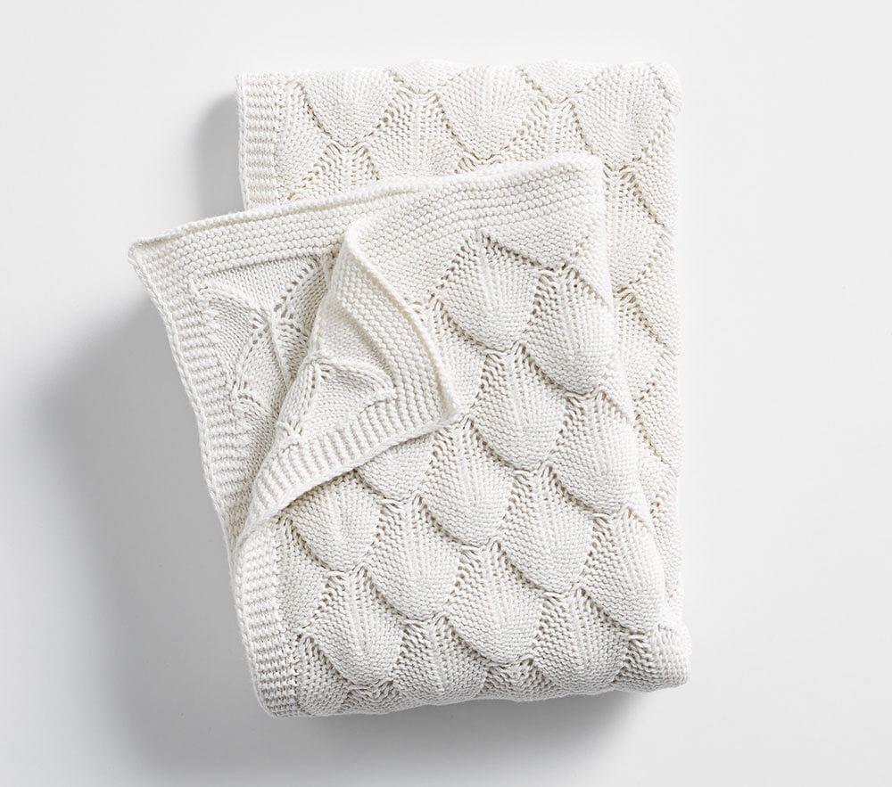Bubble Knit Baby Blanket