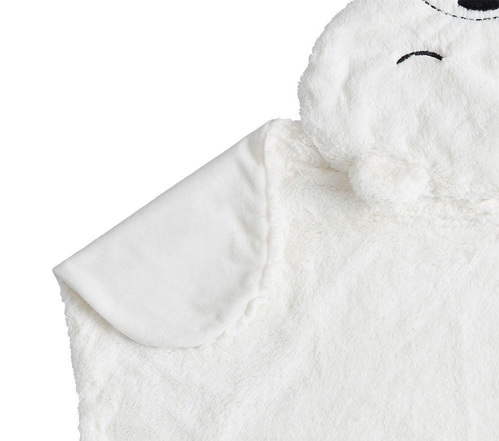 Shaped Faux Fur Bear Baby Blankets