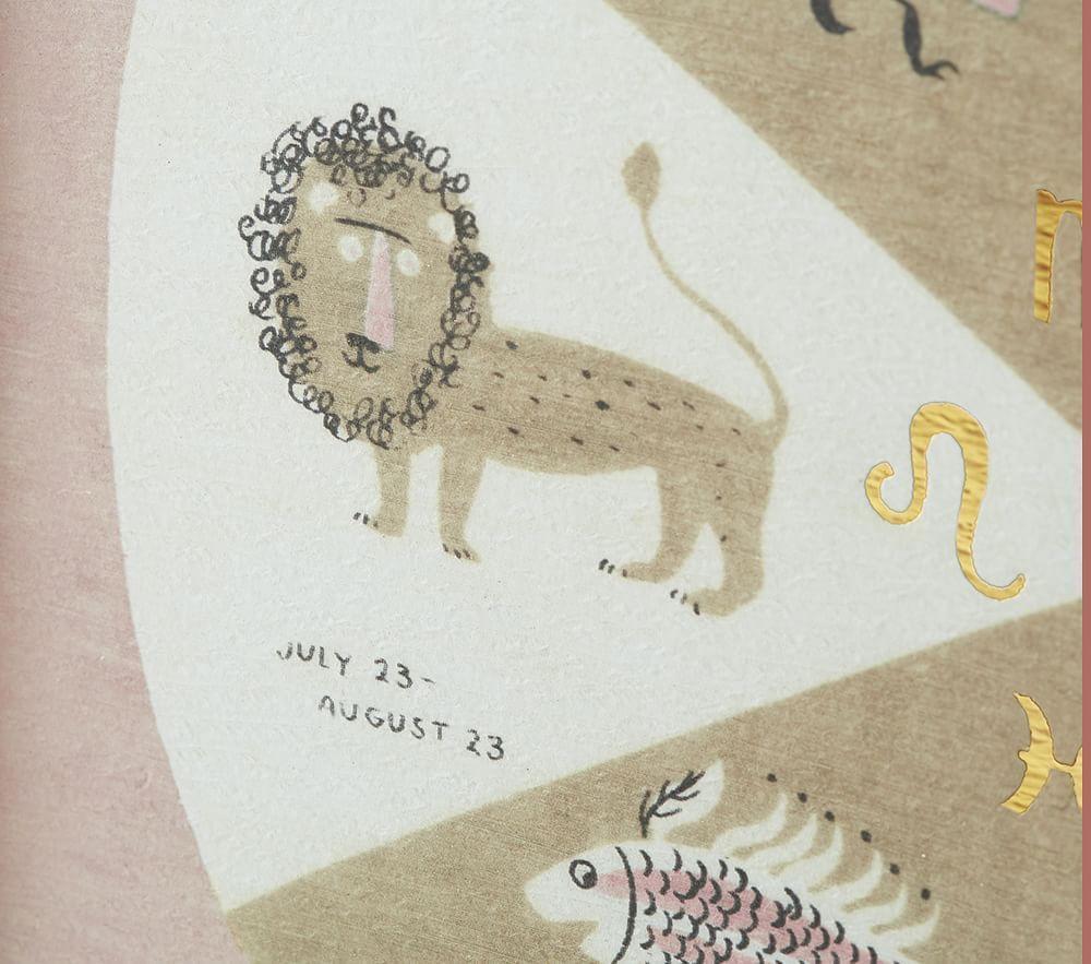 Astrology Framed Wall Art, Set of 2