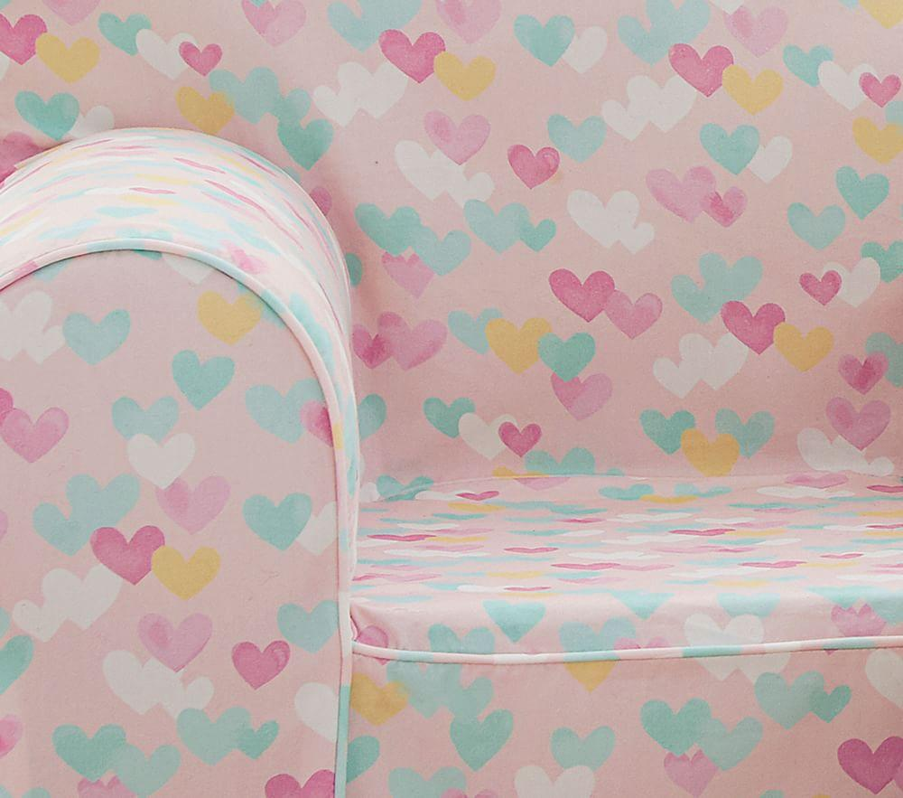 Blush Retro Hearts Anywhere Chair®