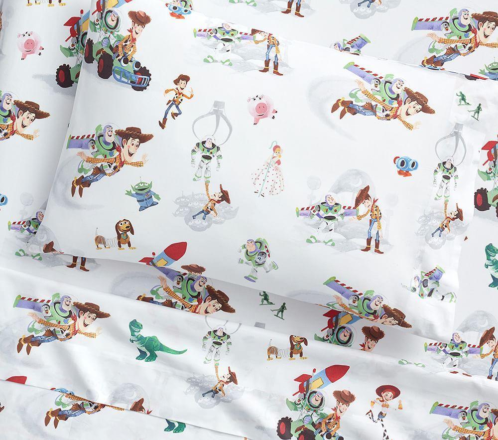 Disney 174 Pixar Toy Story Organic Toddler Pillowcase