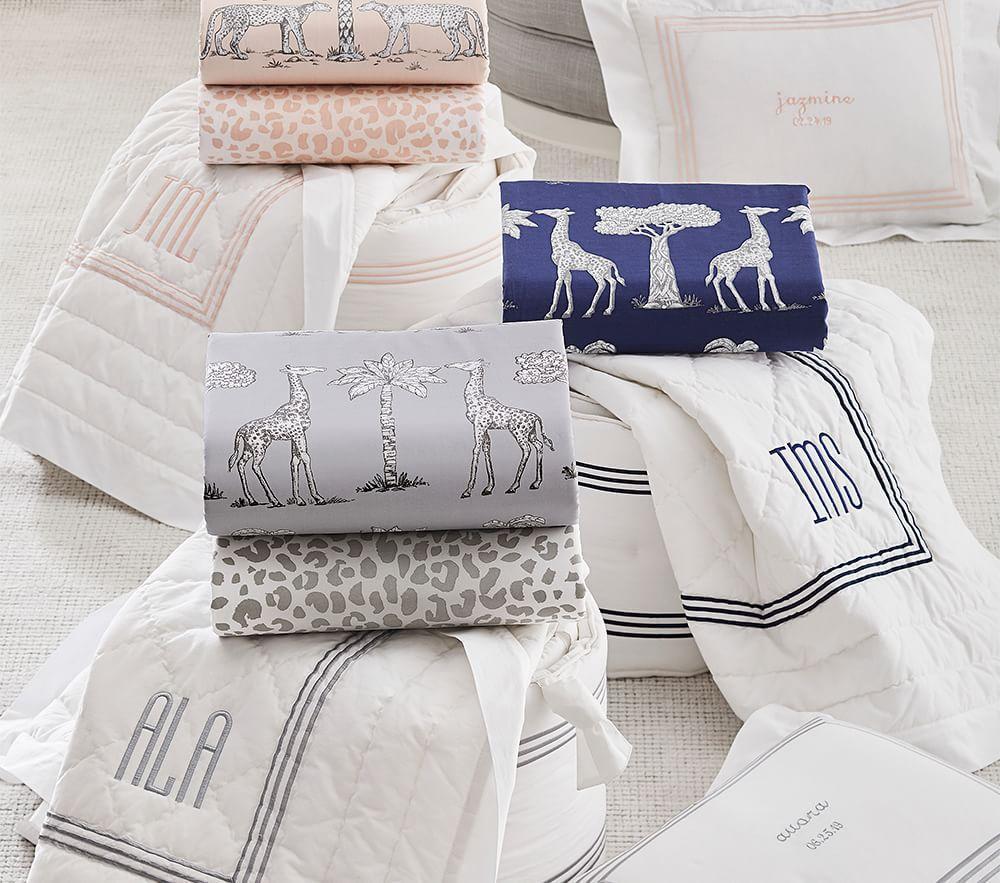 Grand Baby Bed Linen - Navy