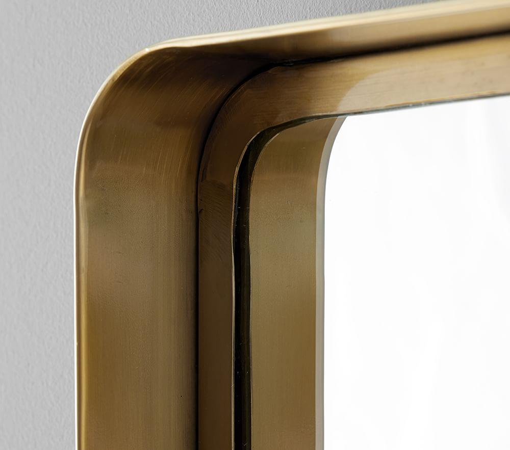 Gold Ledge Mirror