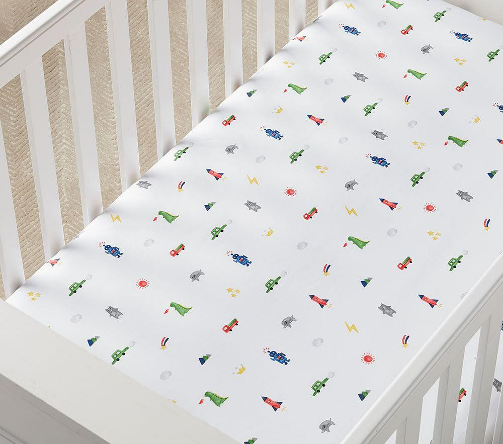 Organic Preston Cot Fitted Sheet