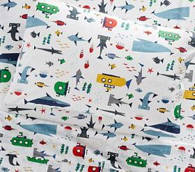 Organic Ocean Explorer Sheet Set