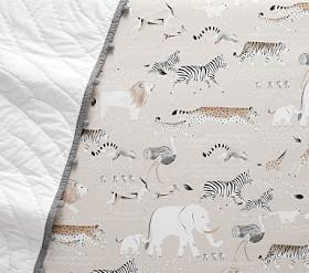 Organic Rowan Safari Cot Fitted Sheet