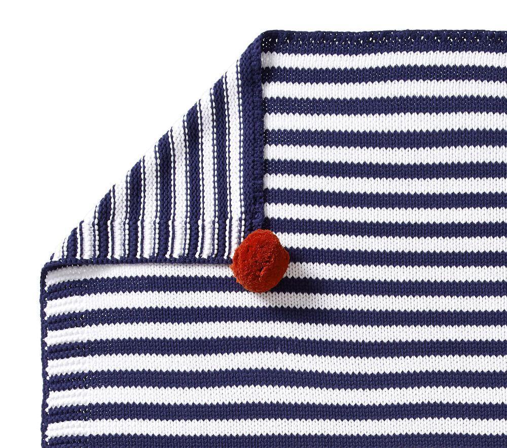 Preston Stripe Baby Blanket