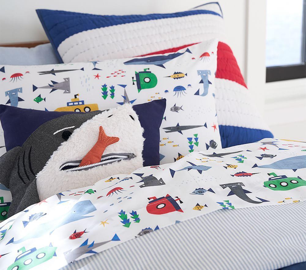 Shark Bite Cushion
