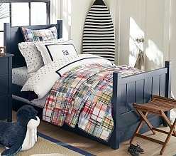 Camp Bed - Navy