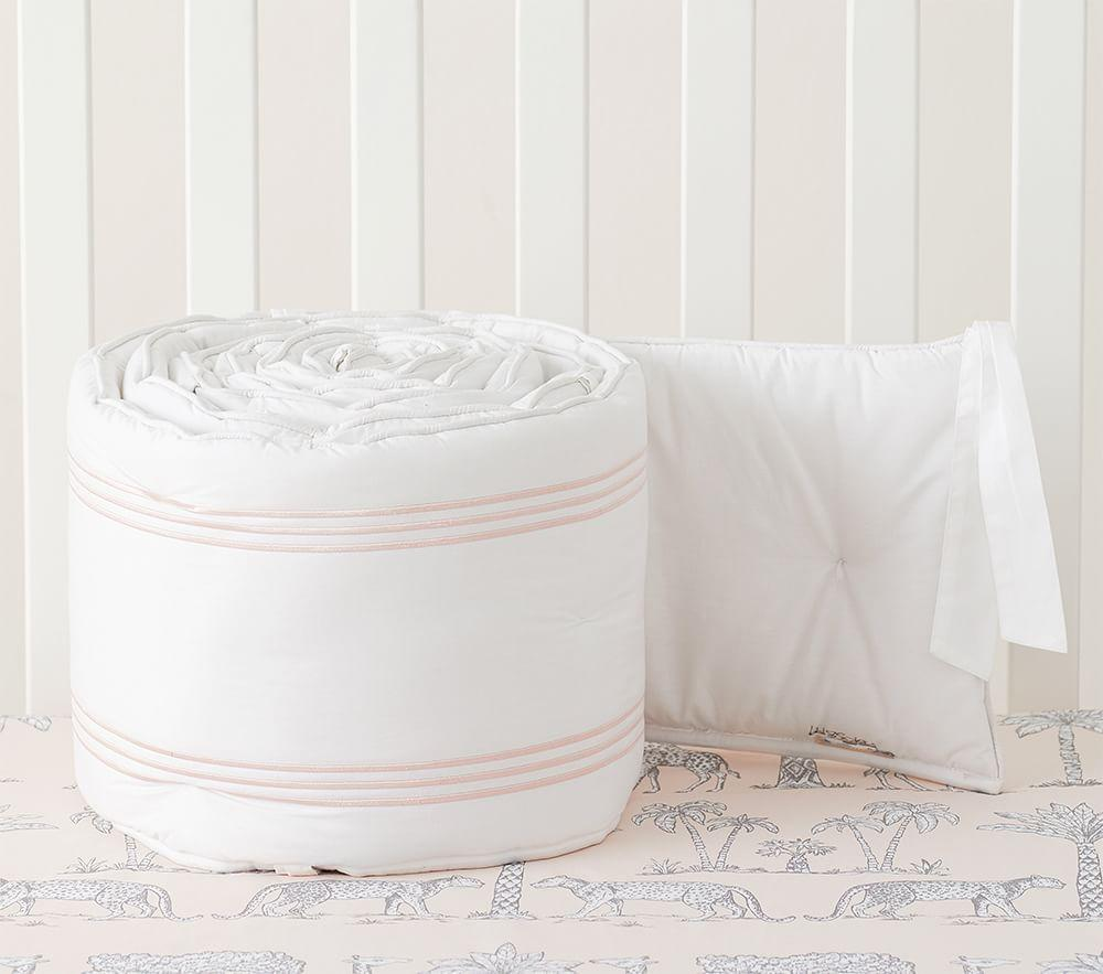 Grand Baby Bed Linen - Blush