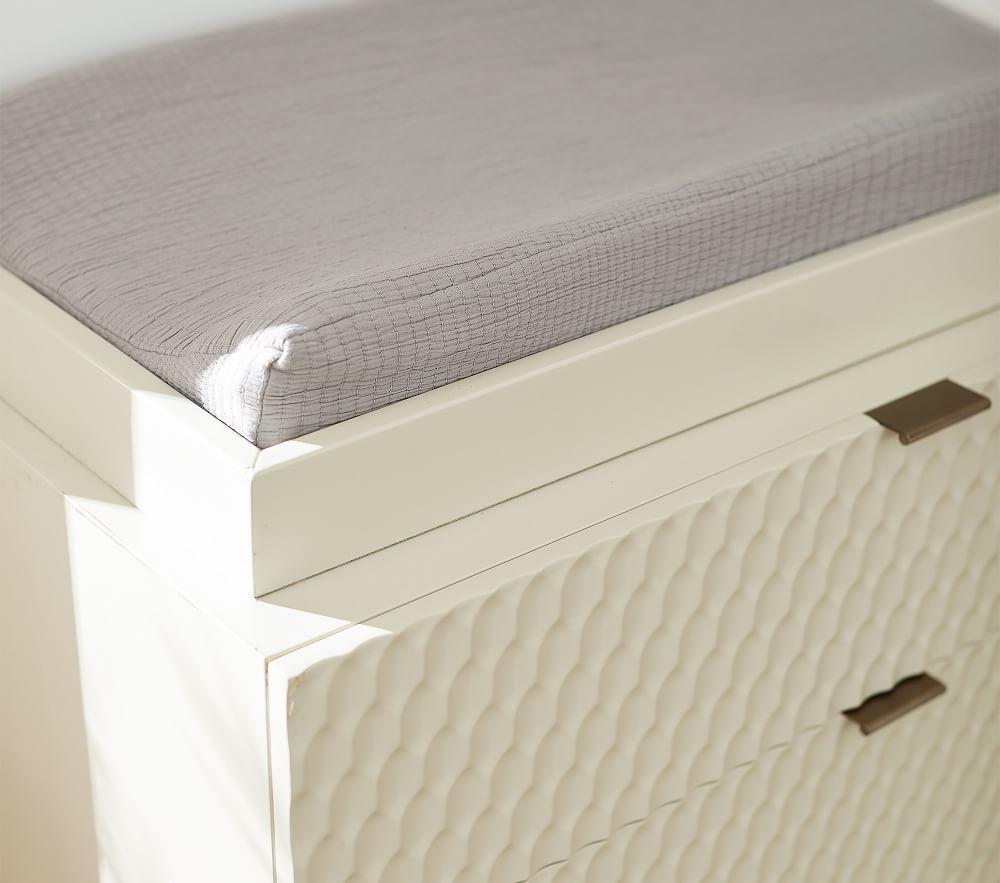 west elm x pbk Audrey 3-Drawer Dresser & Change Table Topper