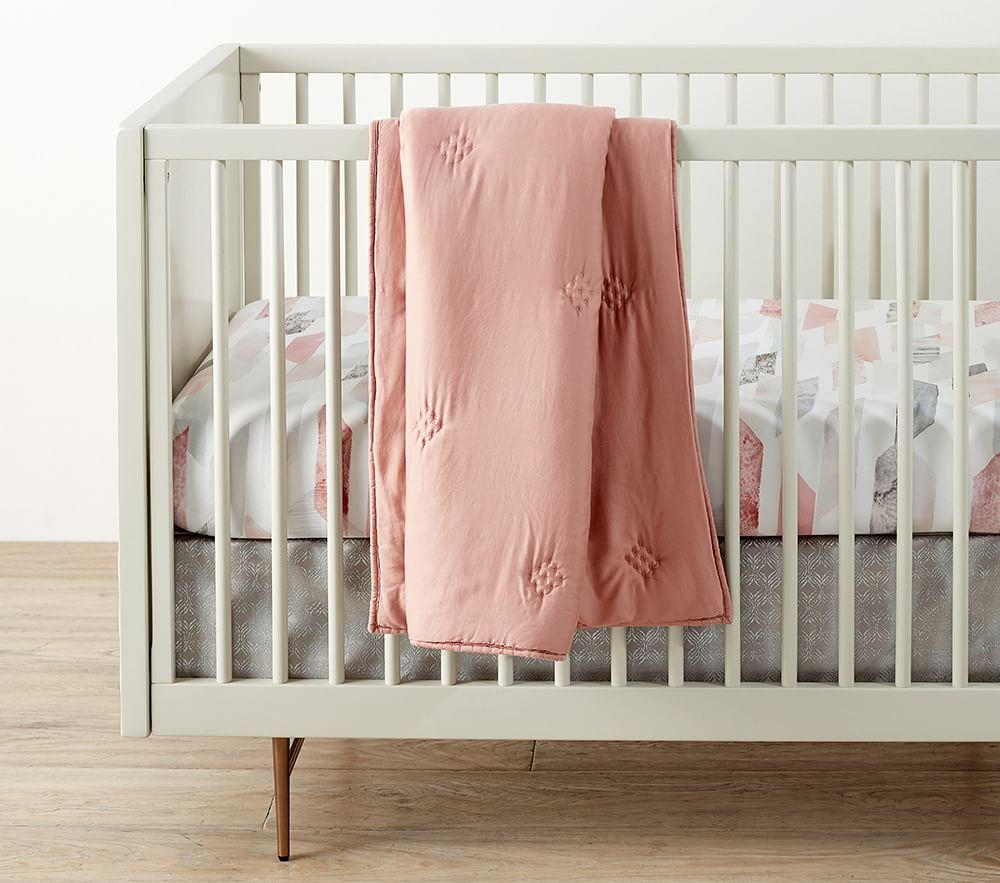 west elm x pbk Washed Tencel® Baby Bed Linen
