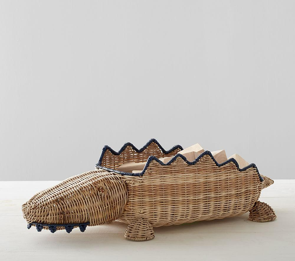 Alligator Shaped Storage Basket