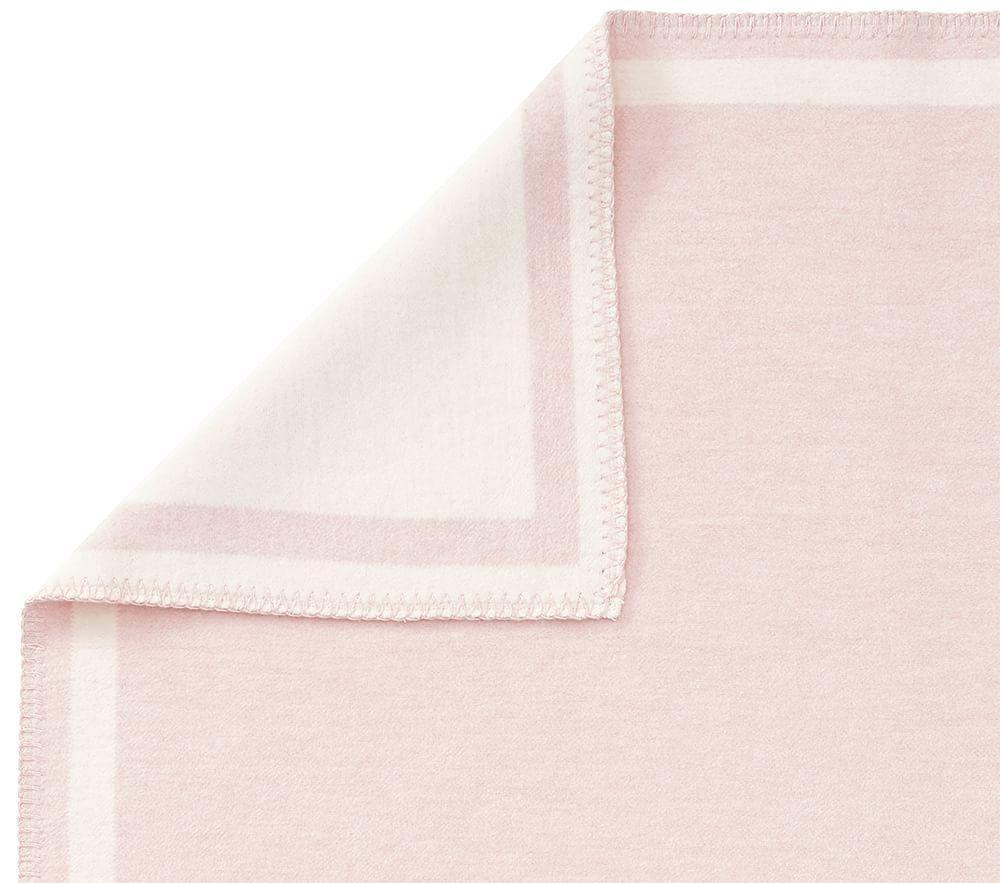 Fuzzy Border Baby Blanket