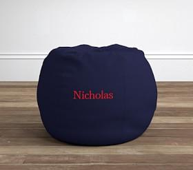 Navy Anywhere Beanbag