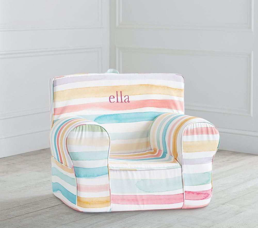 Kayla Rainbow Stripe Twill Anywhere Chair®