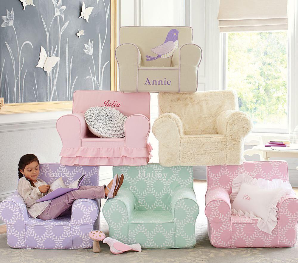 Ivory Fur Anywhere Chair