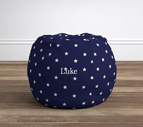 Navy Star Glow-in-the-Dark Anywhere Beanbag®