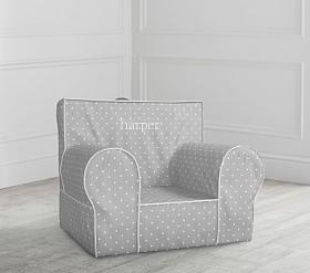 Grey Pin Dot Anywhere Chair®