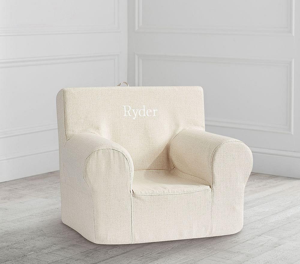 Oatmeal Basketweave Slub Anywhere Chair®
