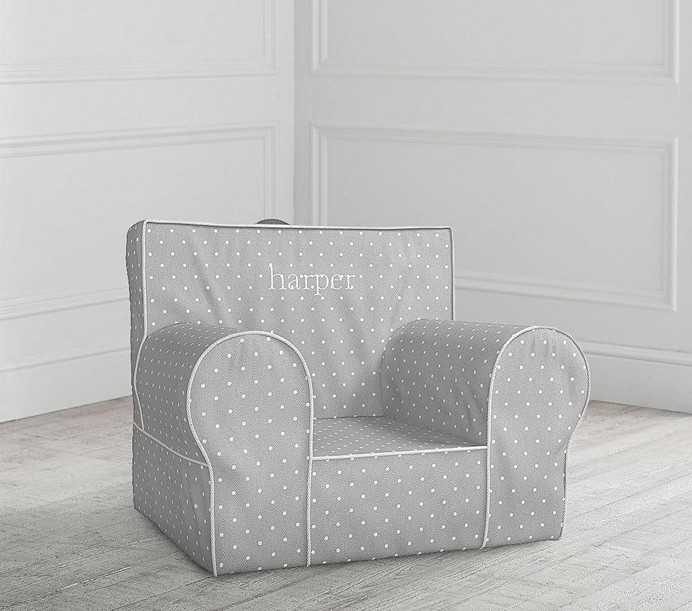 Grey Pin Dot Anywhere Chair®