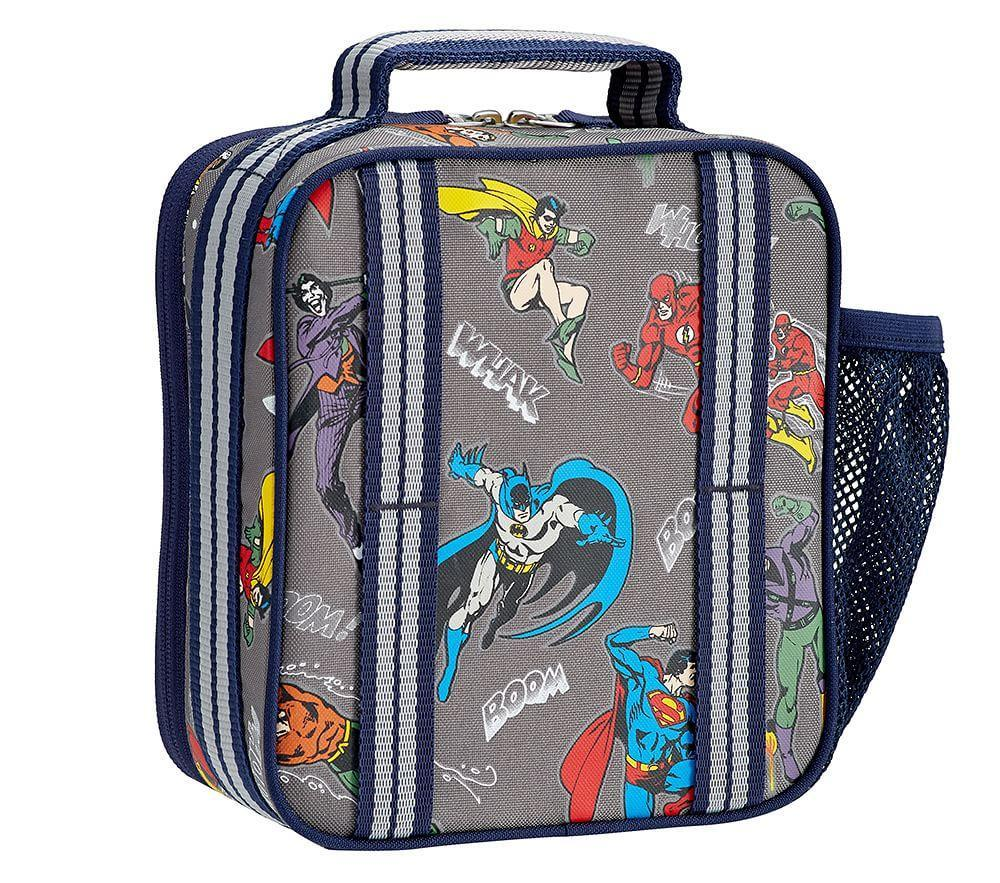 Glow In The Dark Justice League Lunch Box Pottery Barn Kids