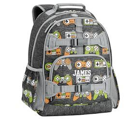 Mackenzie Charcoal Gamer Reflective Backpacks