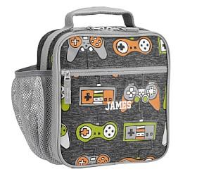 Mackenzie Charcoal Gamer Reflective Classic Lunch Box