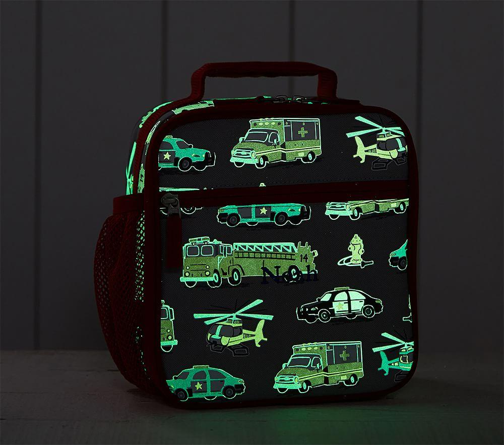 Mackenzie Grey Rescue Heroes Glow-in-the-Dark Classic Lunch Box