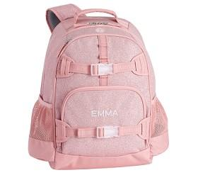 Mackenzie Pink Sparkle Glitter Backpacks