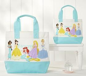 Aqua Disney Princess Tote