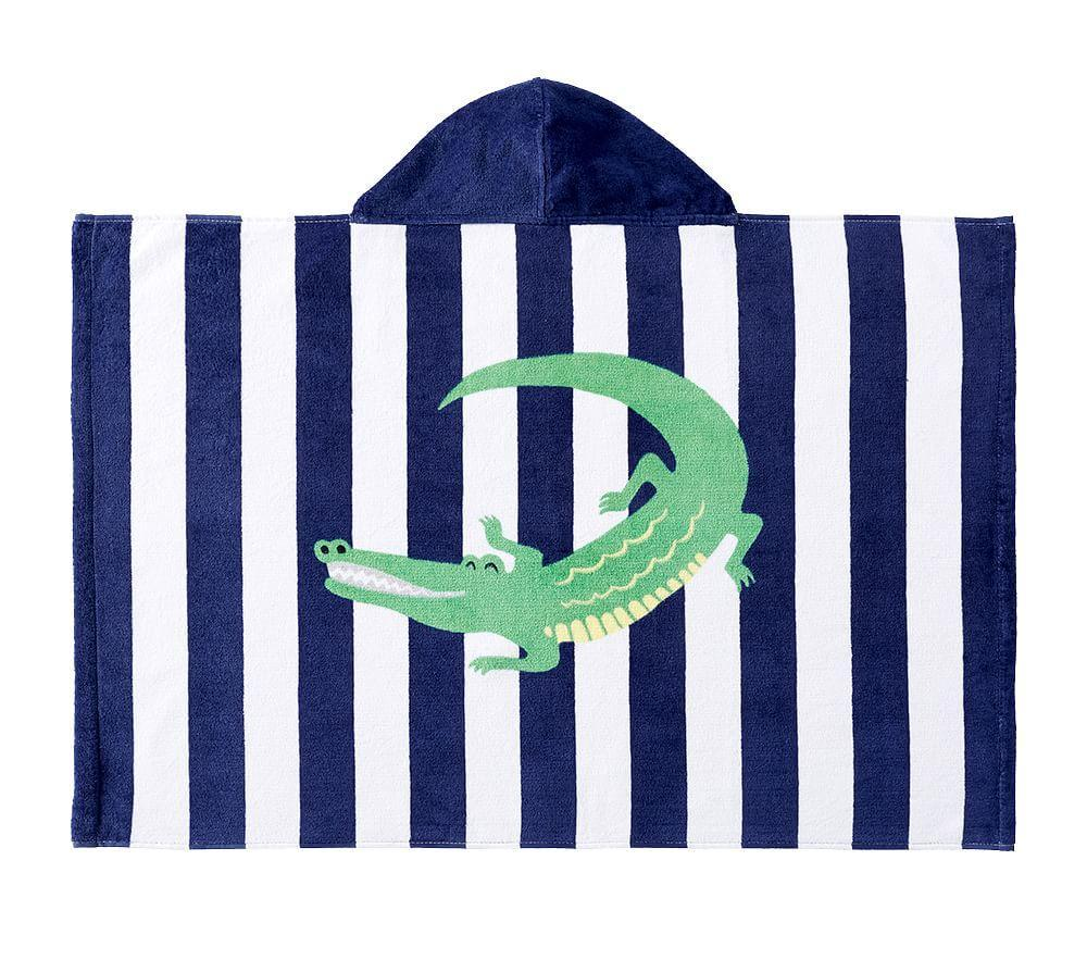 Alligator Stripe Baby Beach Wrap