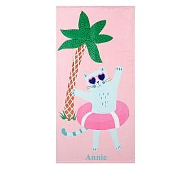 Beach Cat Beach Towel