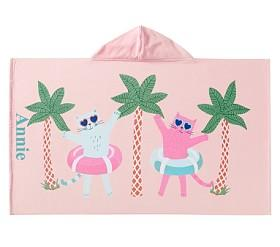 Beach Cat Beach Wrap