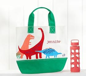 Dino Safari Preppy Icon Tote