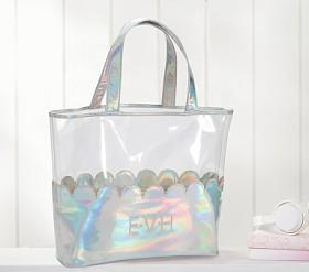 The Emily & Meritt Iridescent Tote