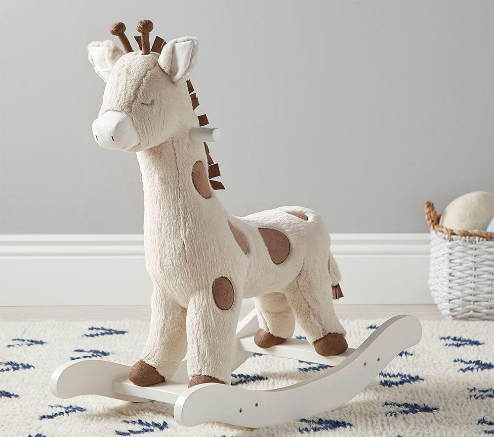 Giraffe Nursery Rocker