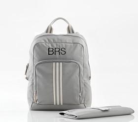 Gray Classic Nappy Bag Backpack