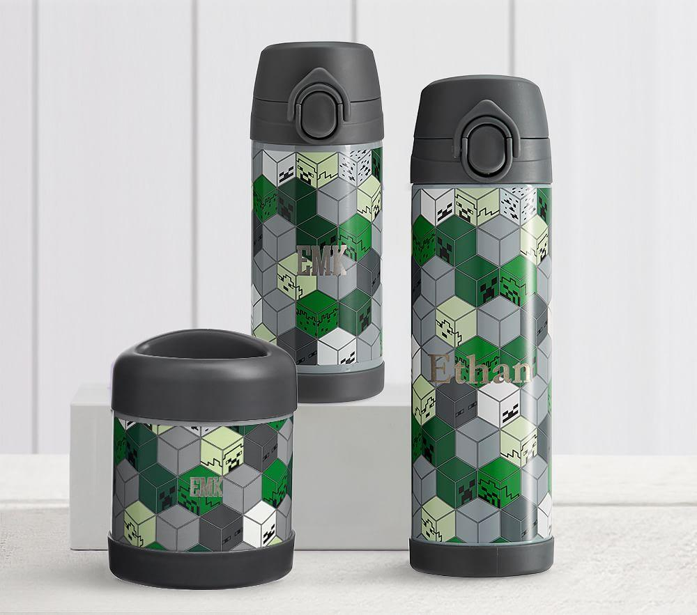 Mackenzie Minecraft Water Bottles Pottery Barn Kids