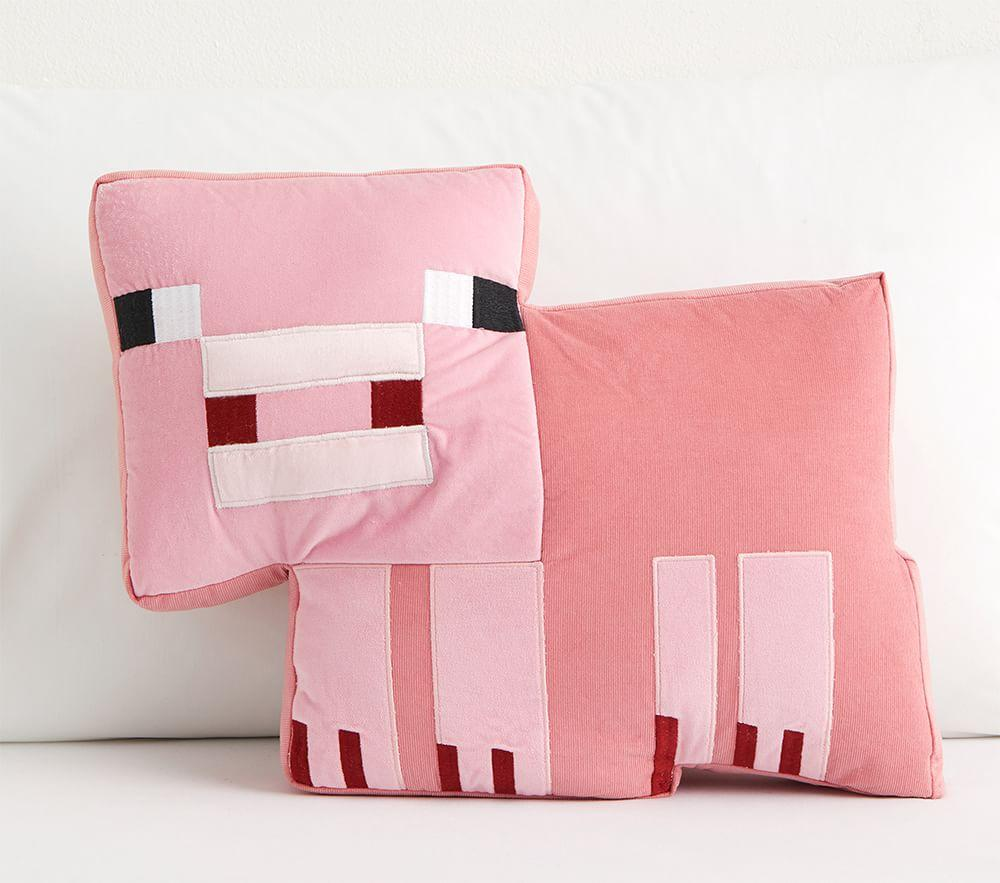 Minecraft Pig Cushion