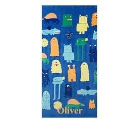 Monsters Beach Towel
