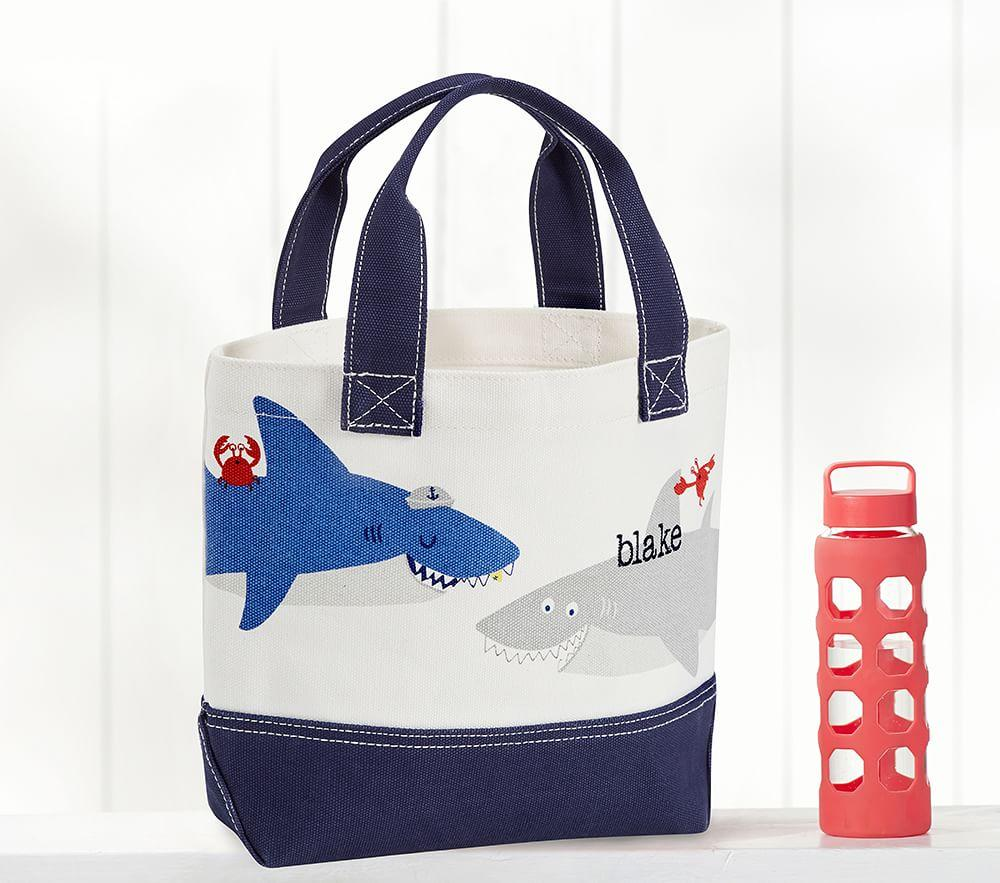 Nautical Shark Tote