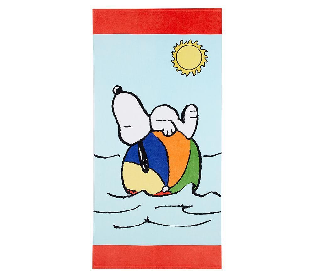 Snoopy® Beach Ball Beach Towel