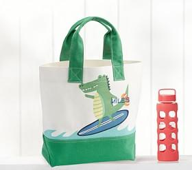 Surf Alligator Tote
