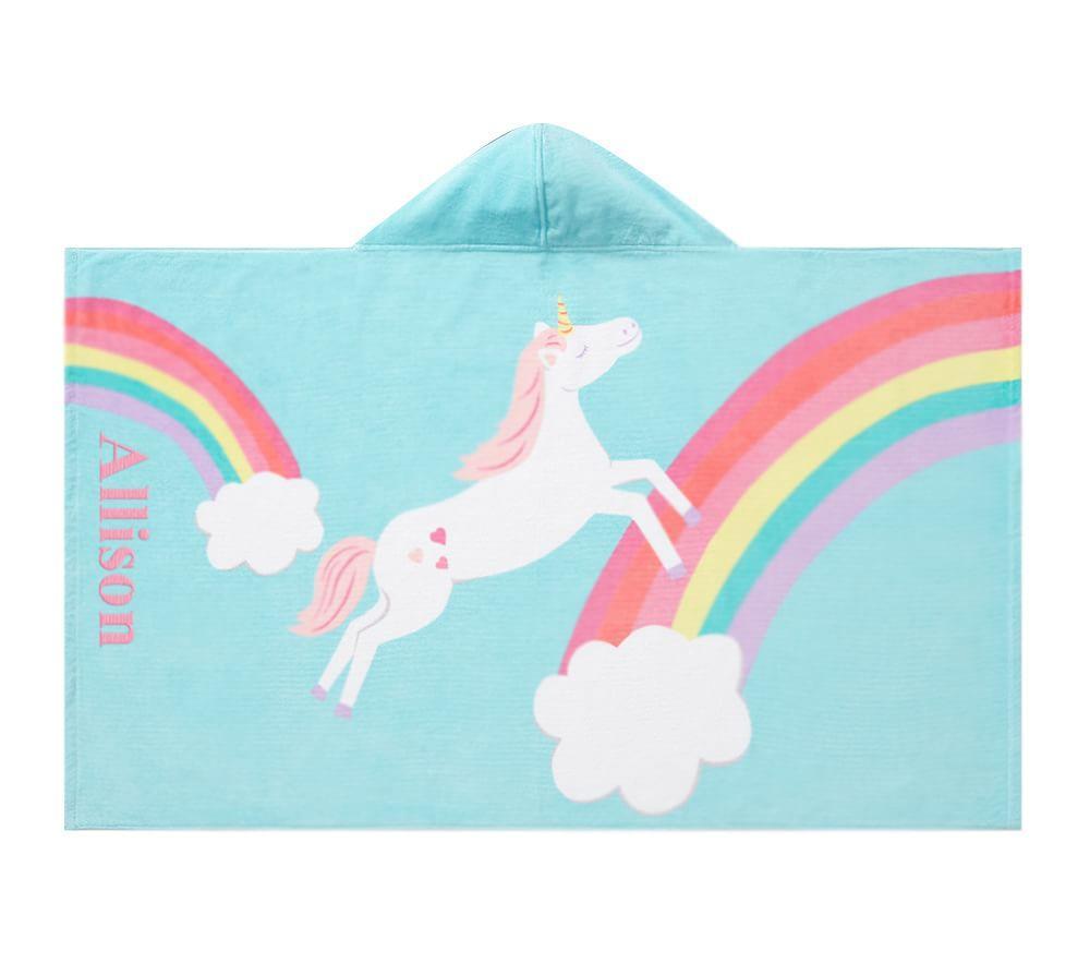 Unicorn Rainbow Beach Wrap