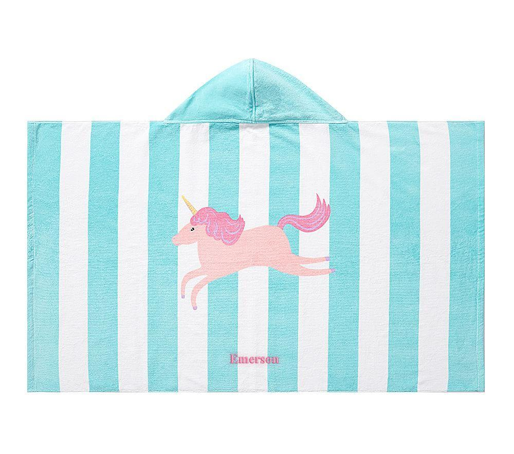 Unicorn Stripe Beach Wrap